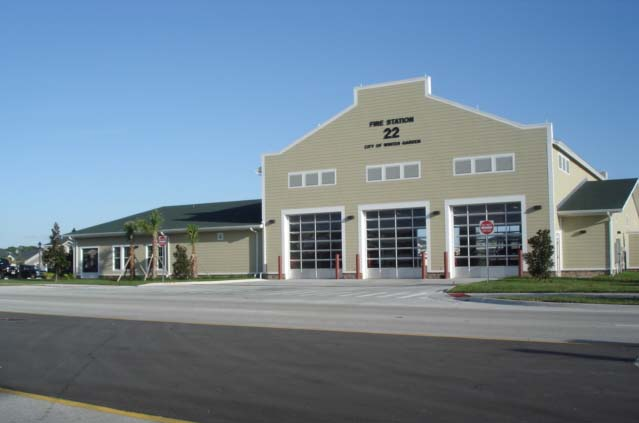 City of Winter Garden Fire Station #22